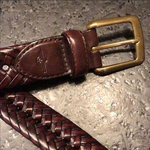 Dockers Brown Braided Belt - 34